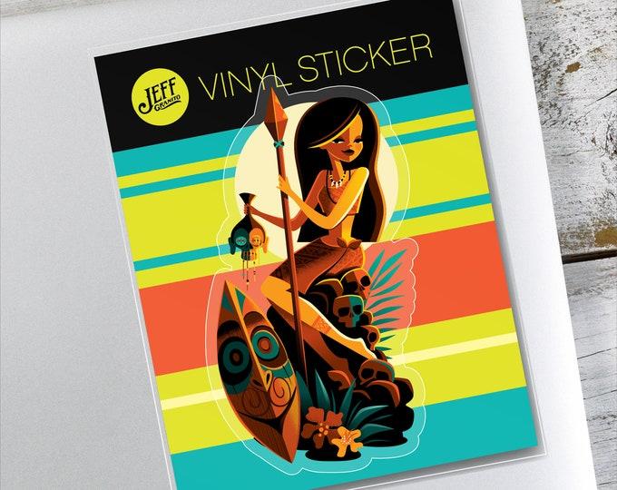 Be-Heading To The Altar Vinyl Sticker