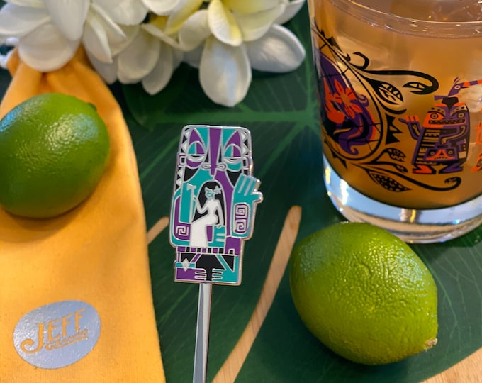 The Old Ball and Chain Swizzle Stick