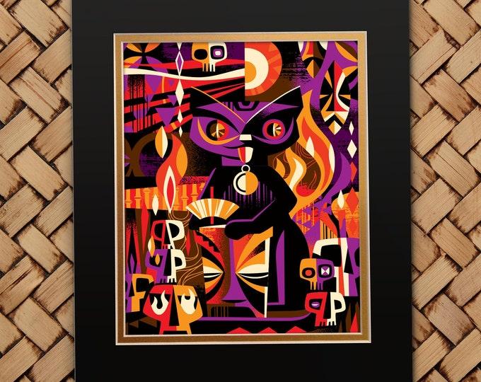 Purple Hiwa Shiba  Print