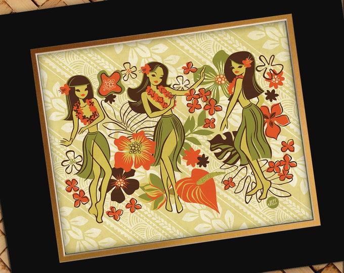 Hula Floral Print