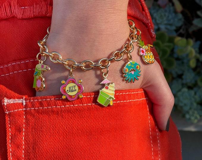 Tiki Breeze Charm Bracelet