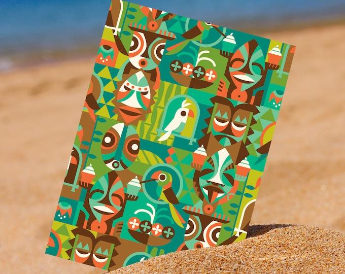 Tiki Room Breeze Mini Print