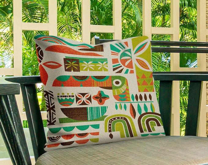 Toucan Breeze Outdoor Pillow Cover