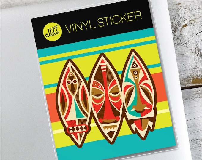 Masks Vinyl Sticker