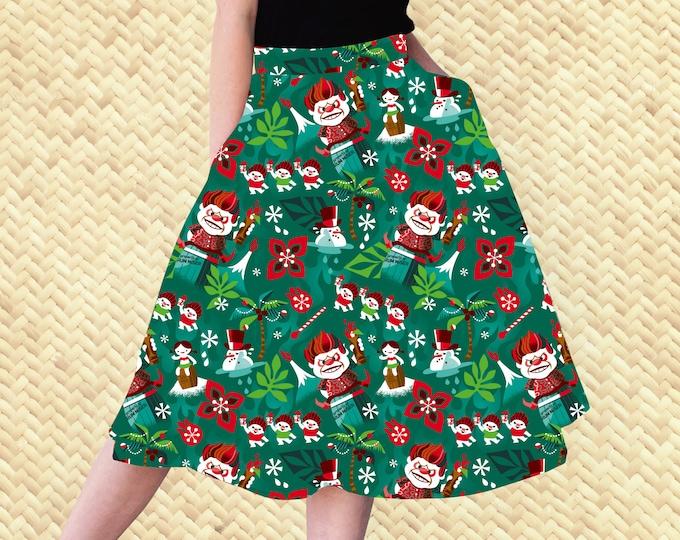PRE ORDER, Rum Miser Aloha Skirt with Pockets