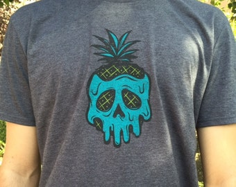 Poison Pineapple Gray T-shirt
