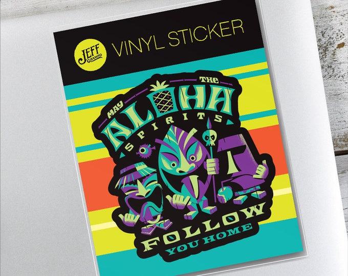 Aloha Spirits Vinyl Sticker