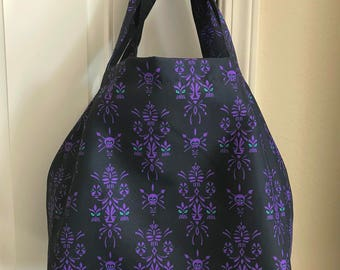 Aloha Spirit All Over Pattern Tote Bag