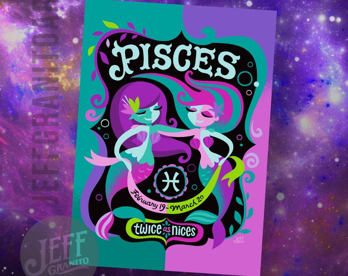 Pisces Mini Print