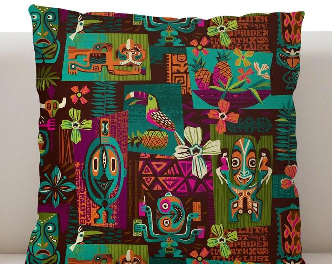 Sin-Tiki Pillow Cover