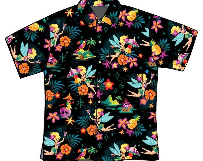 LAST CHANCE, Midnight Tiki Belle Unisex Aloha Shirt