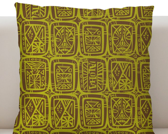 Tattoo Breeze Lime Pillow Cover