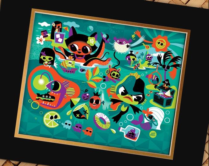 Black Lagoon Print