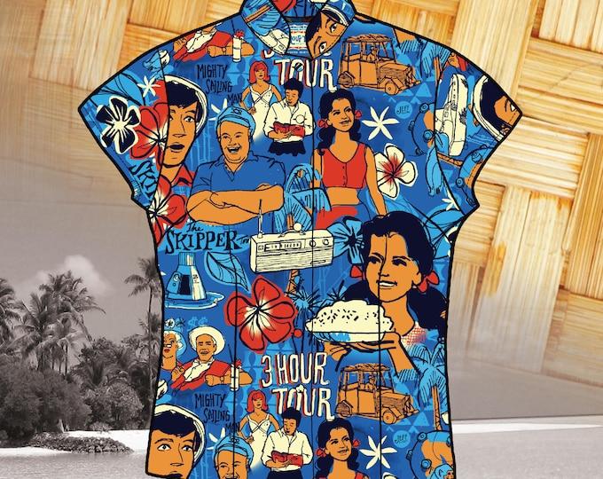 LAST CHANCE, Three Hour Tour 2nd Edition Women's Aloha Shirt