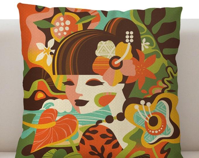 Mod Tropics Pillow Cover