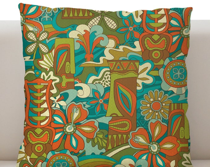 Big Beautiful Tikimorrow Pillow Cover