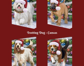Christmas Santa Express Delivery Red Truck Dog /& Cat Backpack Cavalier King Charles Spaniel Chihuahua,Cockapoo Chesapeake Bay Retriever