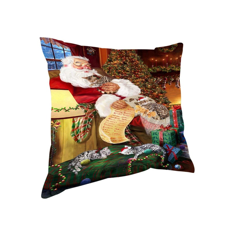 Magnet Coffee Mug and Ornament Coasters The Ultimate Cat Lover Basket Bengal Cats Blanket Pillow