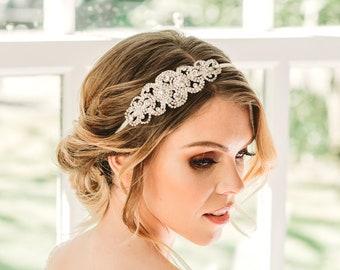 Jahrgang Braut Haarteil Gatsby Kopfschmuck Hochzeit Etsy