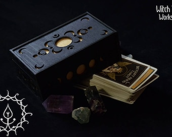 Demented Moon Tarot box