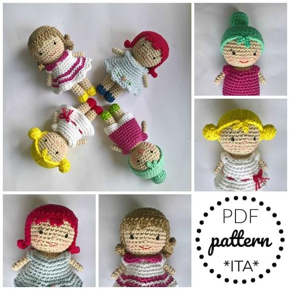 little twin stars Amigurumi tutorial-schema/How to crochet Little ... | 570x570