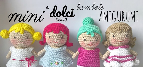 bambole schema gratis amigurumi crochet tutorial uncinetto | 268x570
