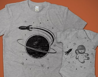 96285d27 Matching Space Shirts, Dad and Baby Matching Shirts, Father Daughter, Father  and Son, Space Gifts for Dad, Father's Day Gifts