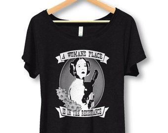 Ladies Flowy T-shirts