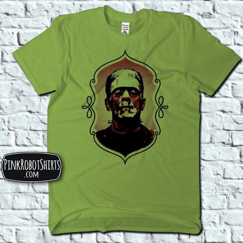 Frankenstein Shirt For Adults Halloween T Shirts For Men Etsy