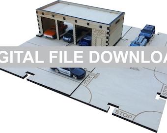Mechanic Set - DIGITAL FILE DOWNLOAD - My Car City Building Sets