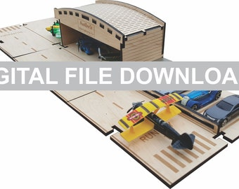Airport Set - DIGITAL FILE DOWNLOAD - My Car City Building Sets