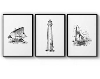 A0 A1 A2 A3 A4 Sizes Maldives Beach Sea Boat Collage Art Large Poster Print
