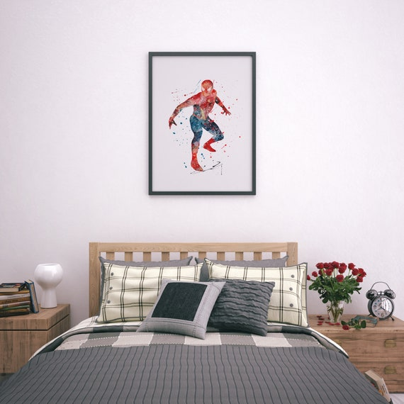 Iron Man The Avengers Superhero Comic wall Large Poster Bedroom Boy A4 A2 A1 A0