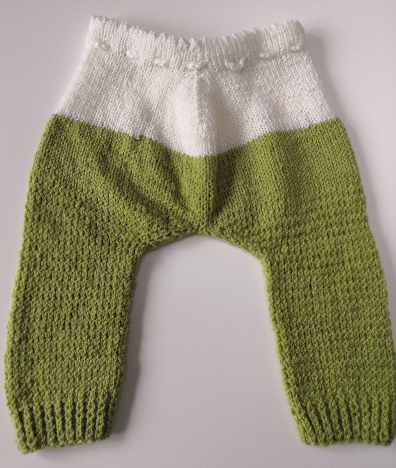 Vintage baby trousers knitted baby trousers winter baby trousers warm baby trousers