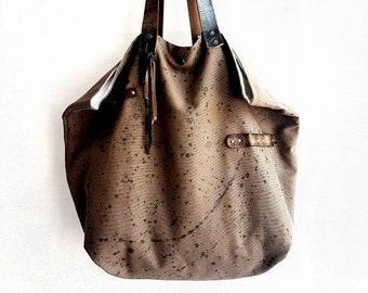 5fbd824bc1 Borsa in tessuto, borse fatte a mano, borsa a spalla, borsa da donna, borsa  dipinta a mano, borsa estiva, borsa di cotone, borsa fantasia