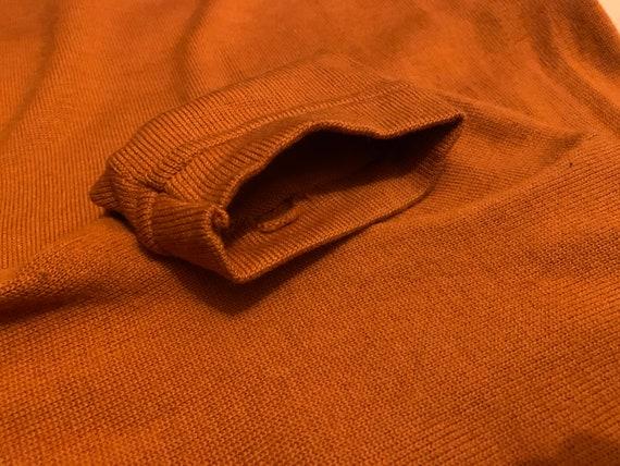 60's wool knit dress / mod mini dress - image 4