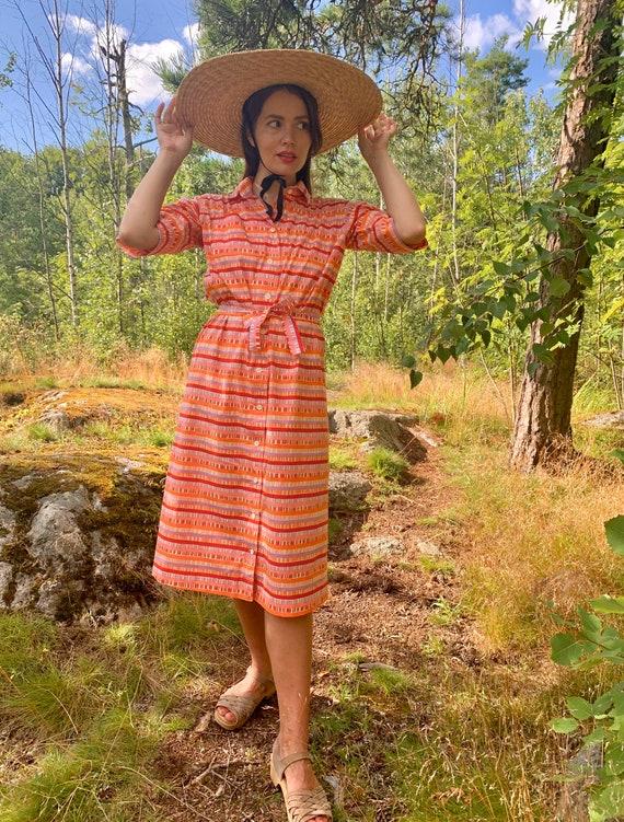 70s 80s Marimekko summer dress