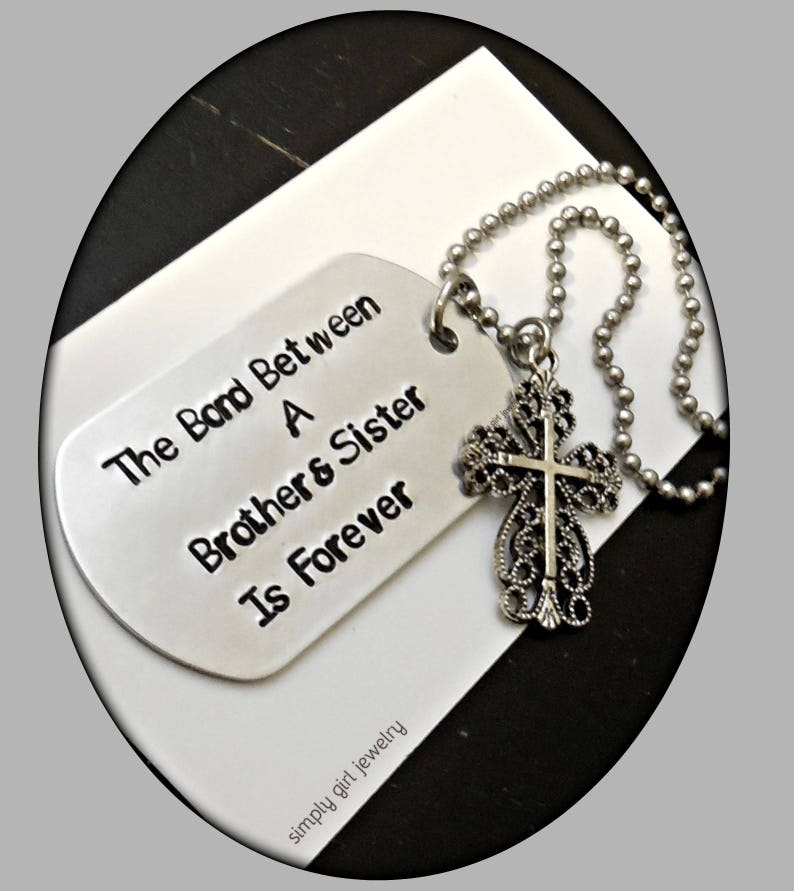 Brother Sisters Necklace Sister Birthday Gift