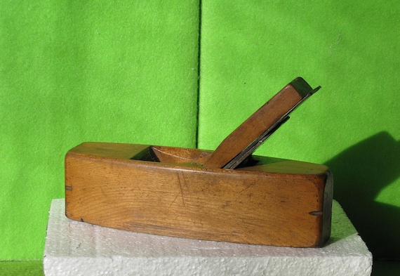 Tools Carpentry Antique Woodworking Coffin Plane Ward Payne Blade Sheffield England Late 1800 S