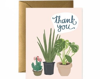 African Plants Greeting Card