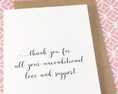 People Who Have Favourited Thank You For Your Support Card Thank You
