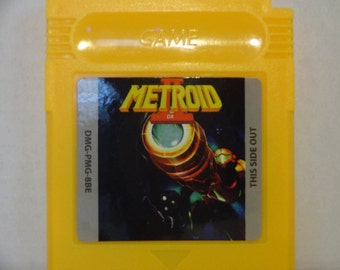Gameboy Metroid 2 DX Full Color
