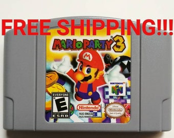 Mario Party 3 for n64