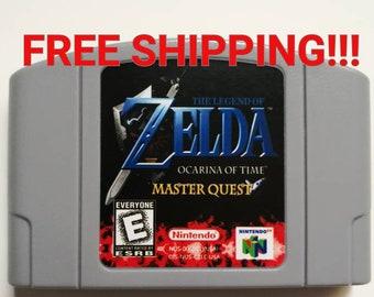 Zelda ocarina of time 64 master quest