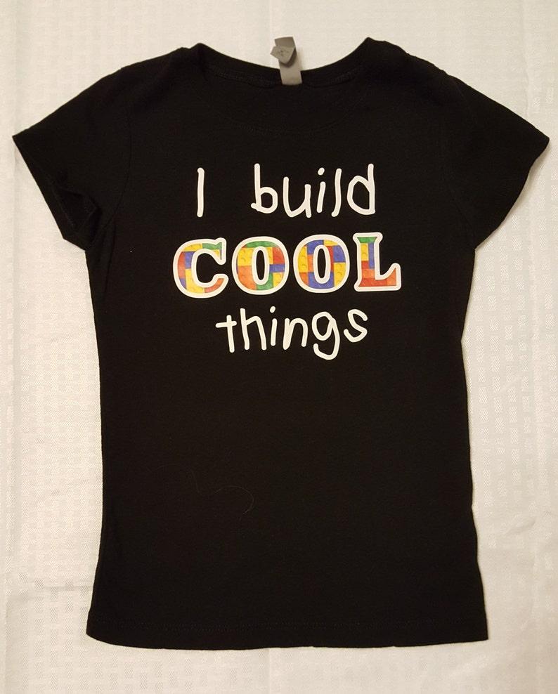 ca0ef1ce3045b I build cool things kid's t-shirt