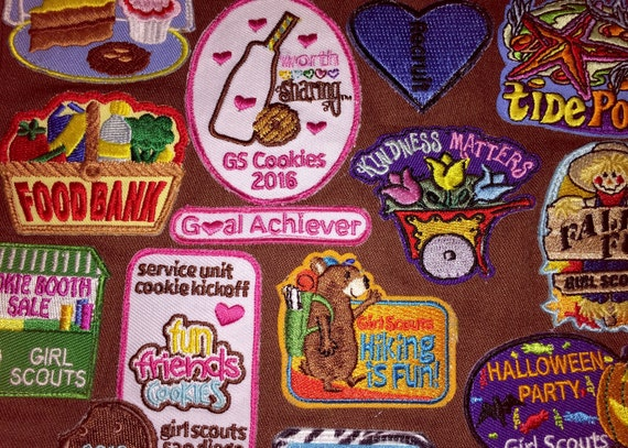 Scout Badge Sewing Service