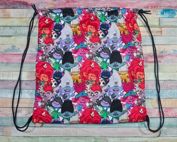 Nerditotes Trolls Drawstring Backpack