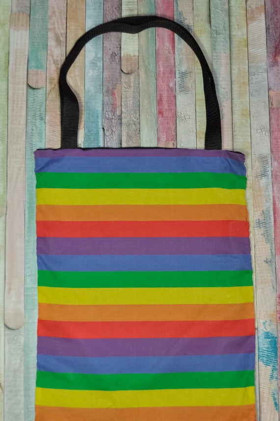 Nerditotes Handmade Handsewn Sugar Skulls Tote Bag