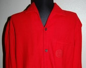 Vintage 1950s Sportsman by Cal-Made California Woolynella Shirt - Men 39 s Size Medium