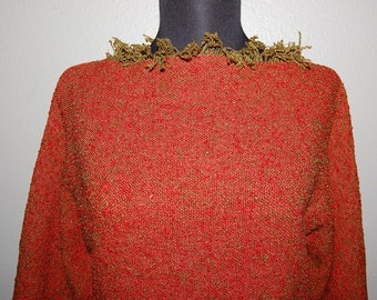 1960s Pull-Over Summer Top - Women's Size S/M
